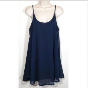 SHI SHI FASHION Strappy Flowy Slip Dress 1431E1